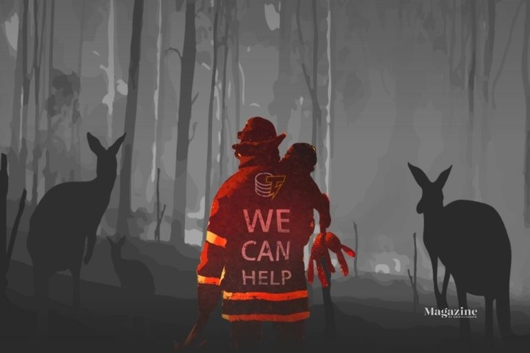 Australia SP 770x513 - Collecting Donations <br> to Help Fund the Recovery <br> from Wildfires in Australia