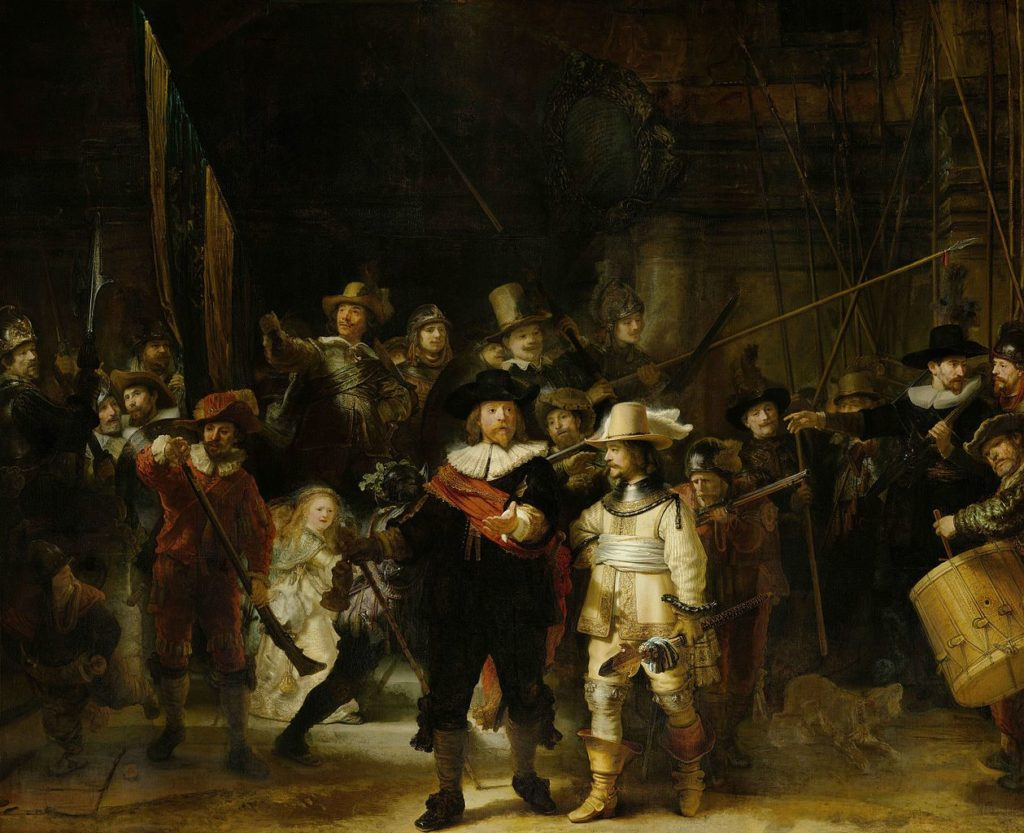 Rembrandt - The Night Watch (1642)