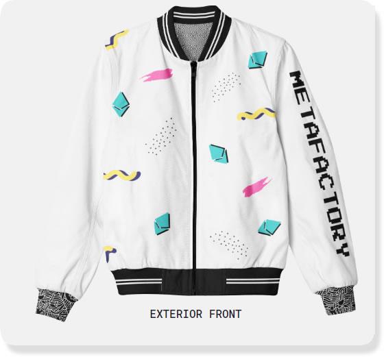 metafactory bomber jacket exterior front