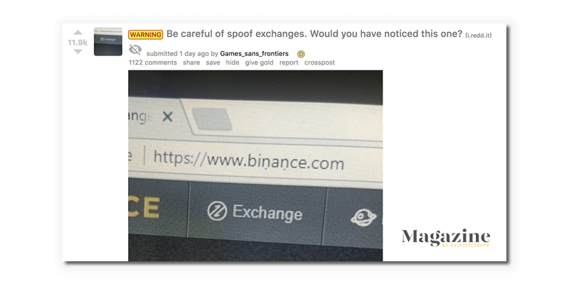 Penjahat crypto binance 2018