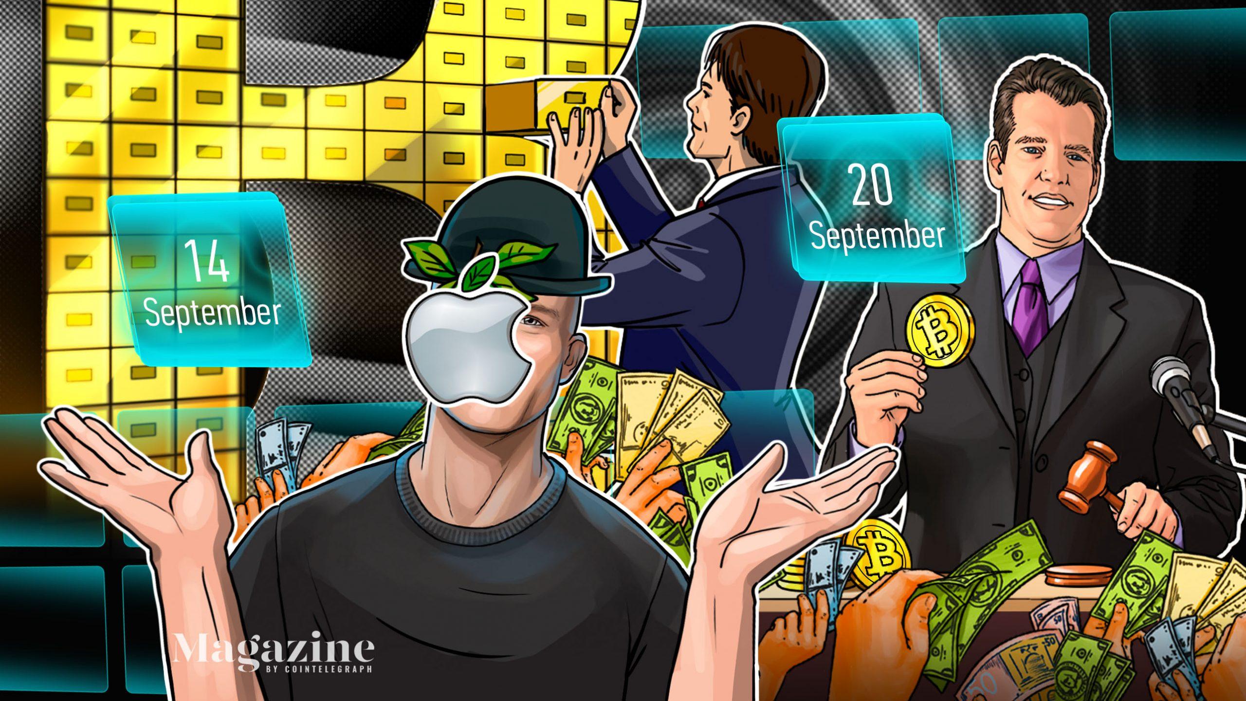 Uniswap payday, ETH transactions hit record high, EU backs stablecoins: Hodler's Digest, Sept. 14–20