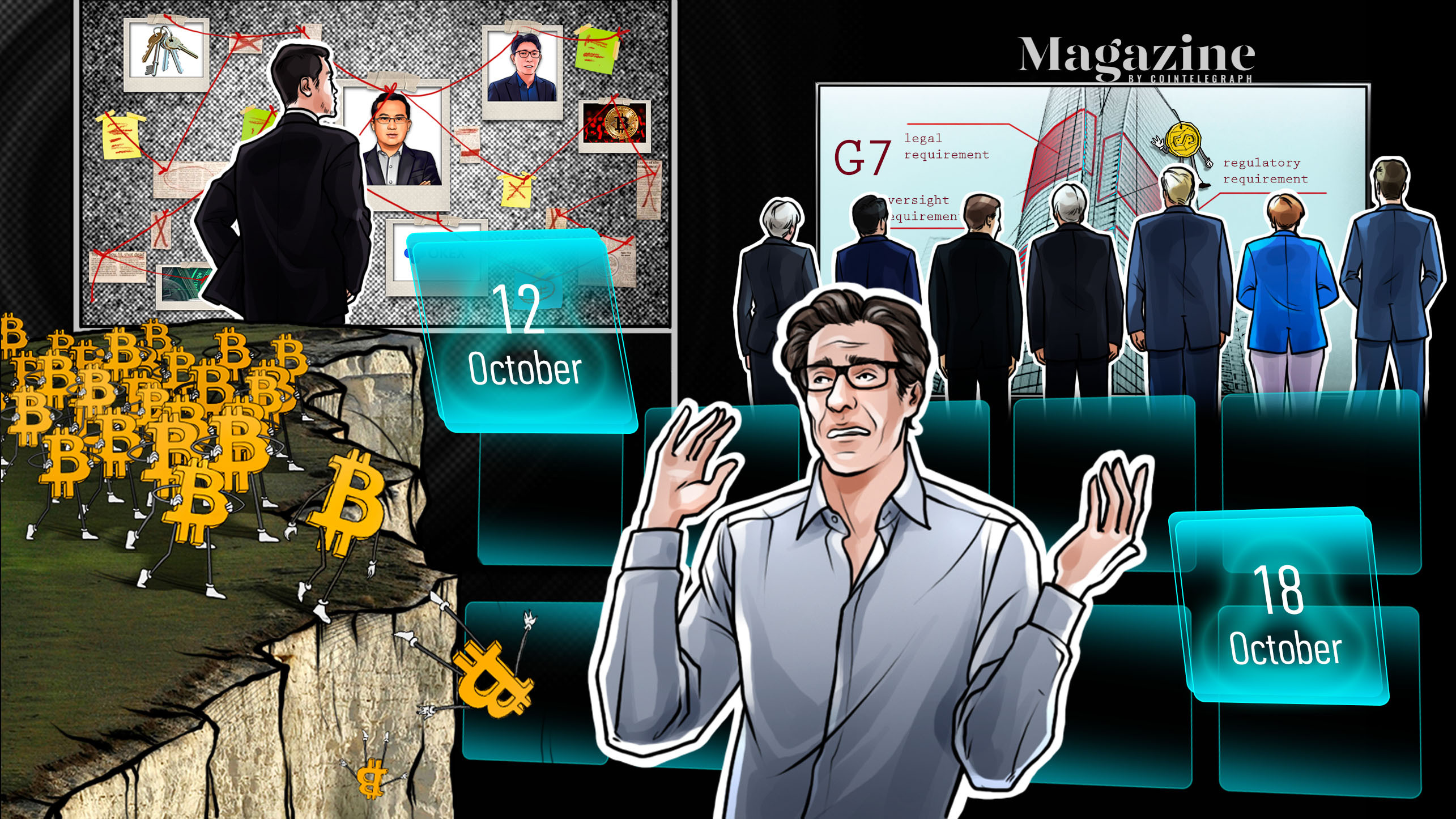 Big Bitcoin prediction, OKEx spooks markets, Ripple exec's big mistake
