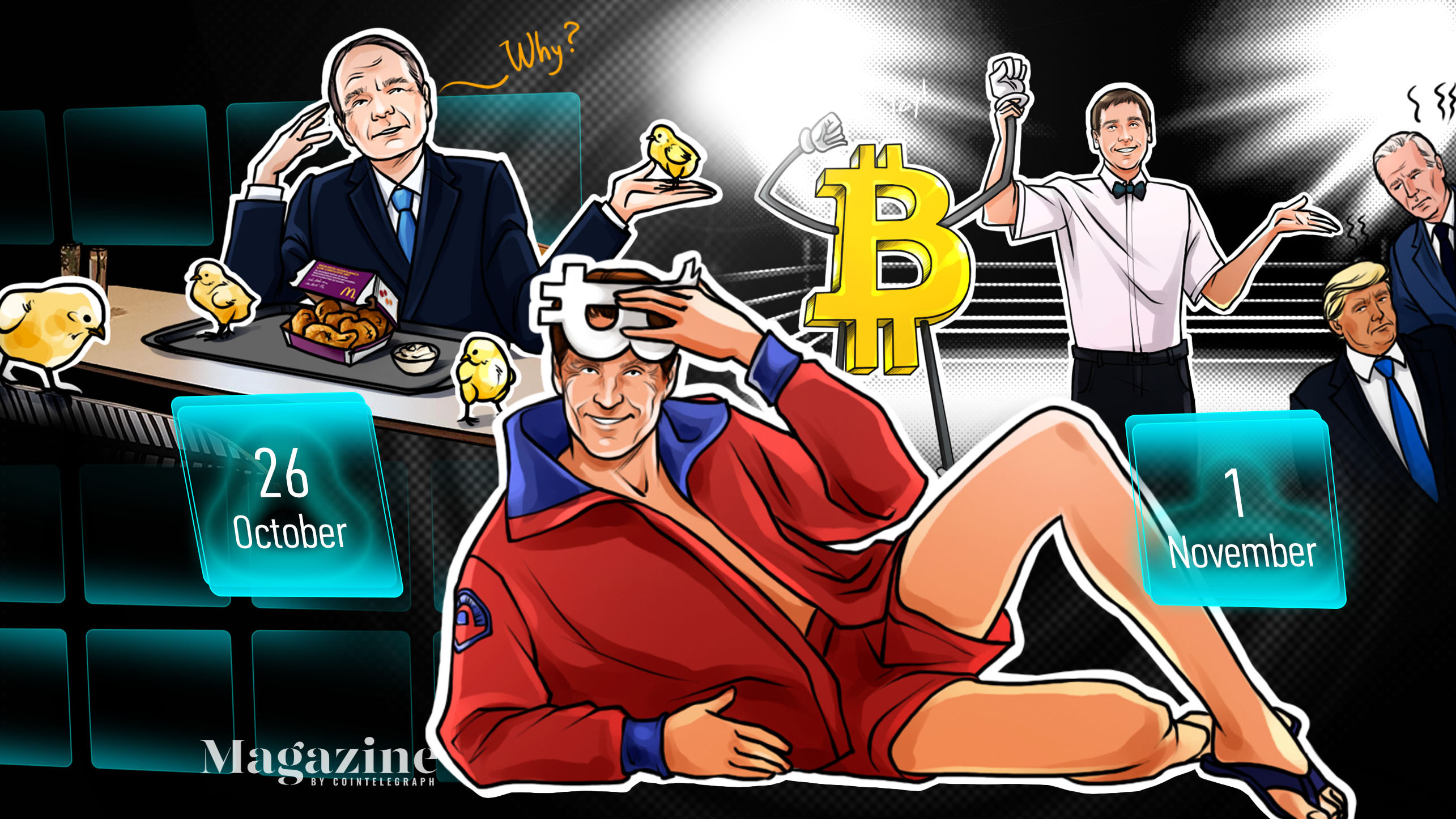 Bitcoin hits $14K, UNI airdrop rejected, scammers target Trump: Hodler's Digest, Oct. 26–Nov. 1