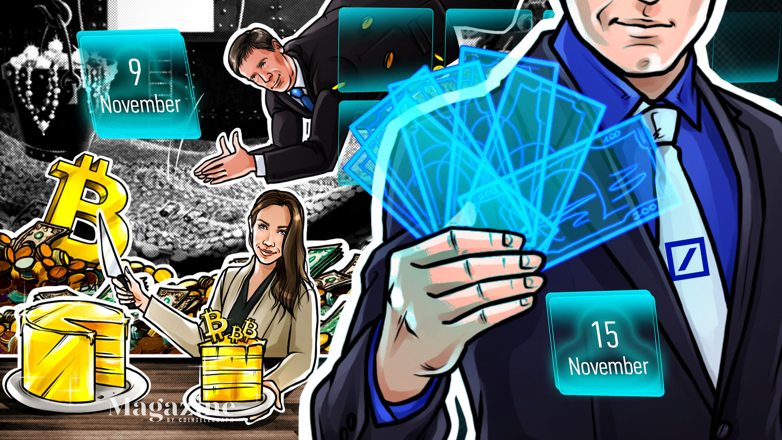 Bitcoin nerves, DeFi defiant, PayPal debut, Coinbase warning: Hodler's Digest, Nov. 9–15