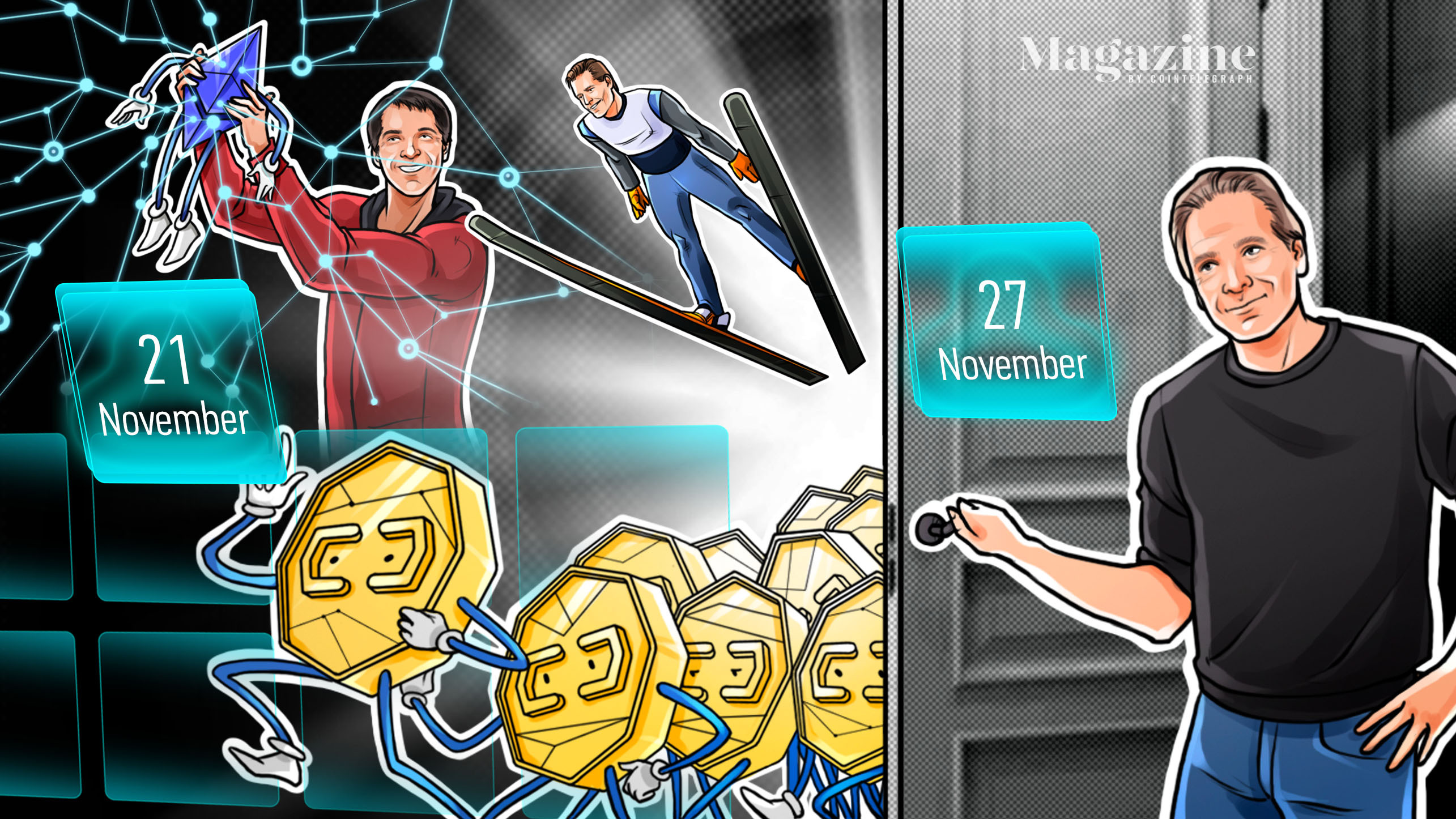 Bitcoin carnage, Eth2 milestone, Libra launch, PayPal blunder: Hodler's Digest, Nov. 21–27