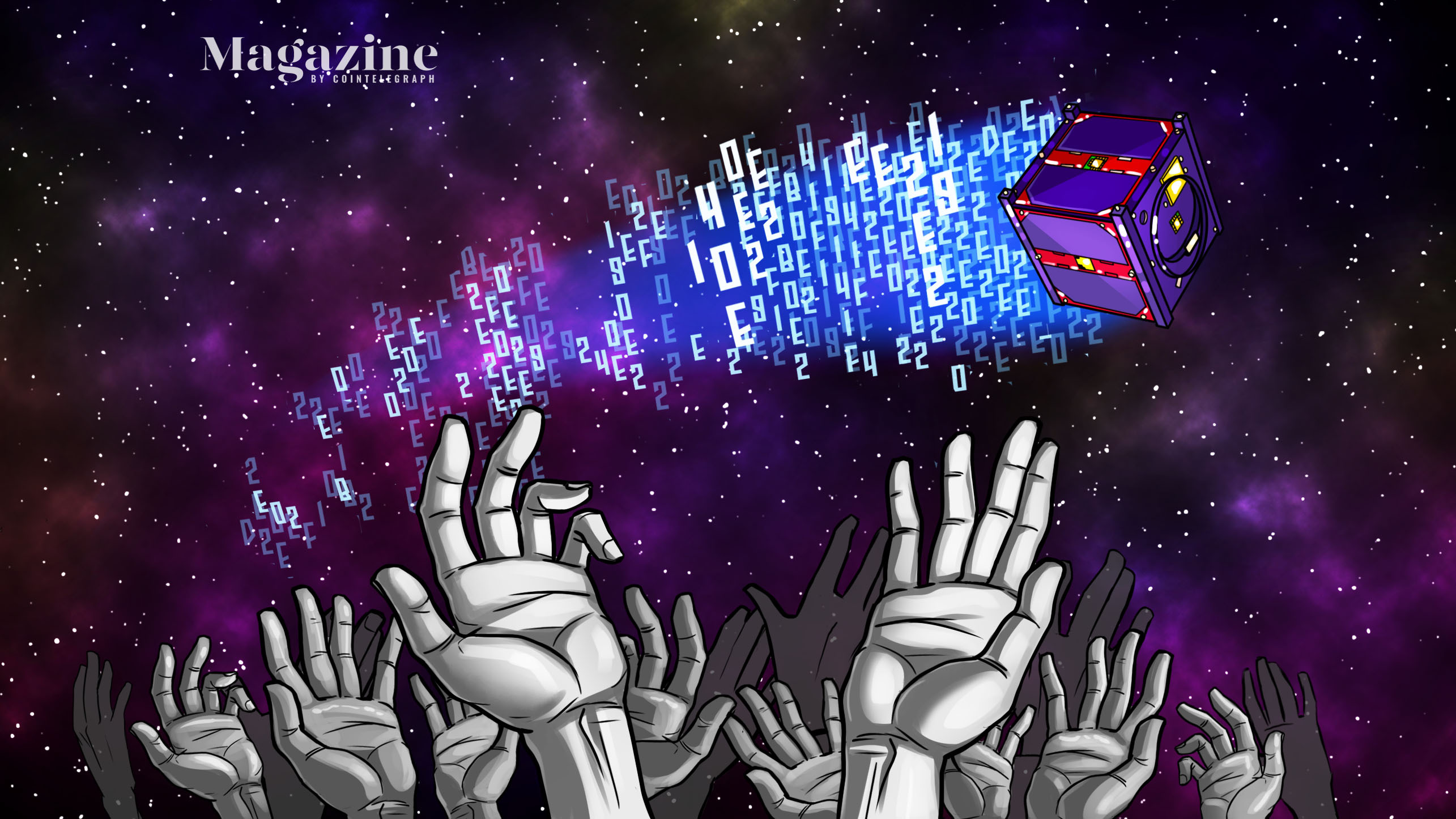 Space invaders: Launching crypto into orbit