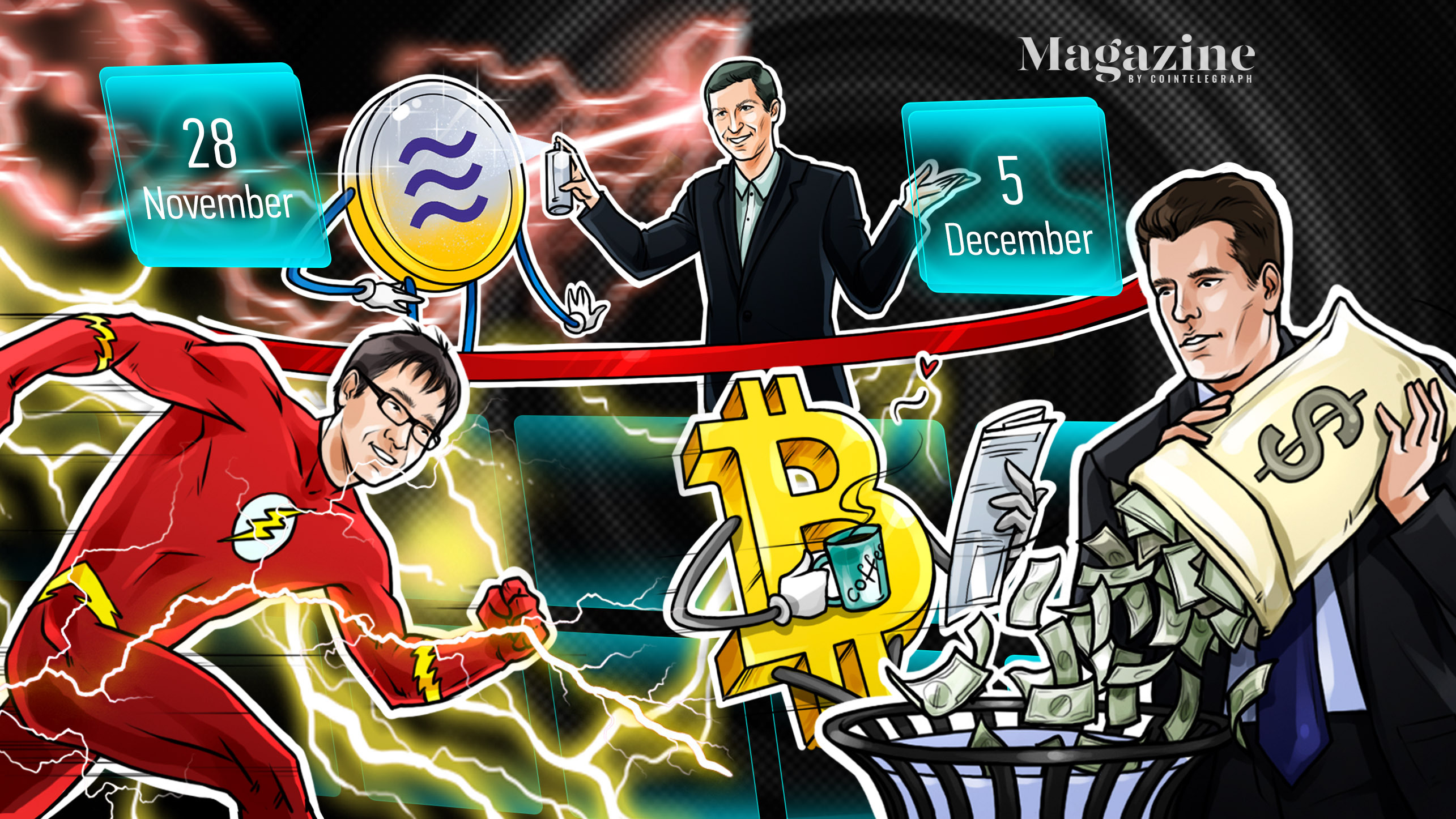 Bitcoin carnage, Eth2 milestone, Libra launch, PayPal blunder: Hodler's Digest, Nov. 21–27