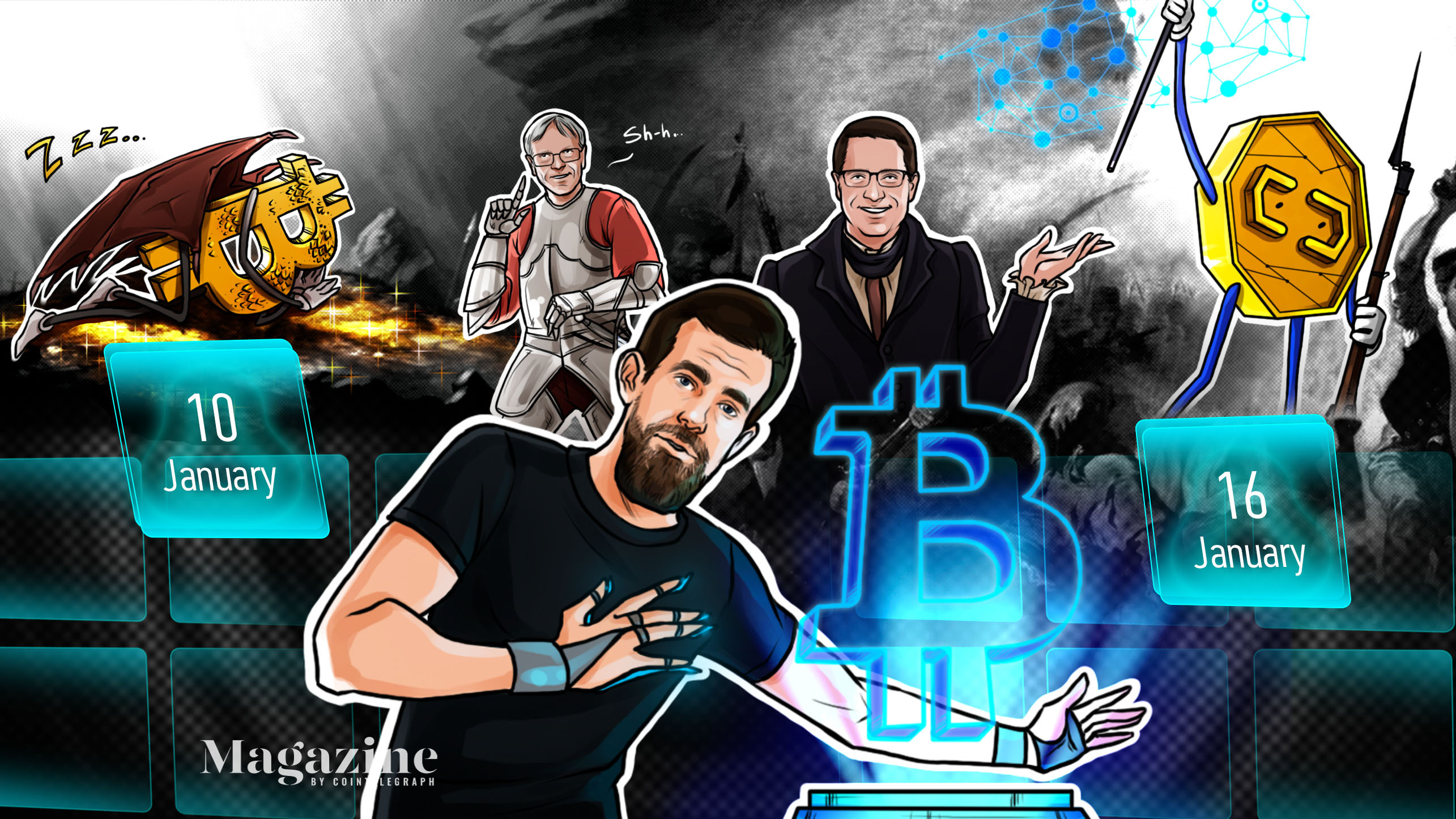 BTC crash, DOT crushes XRP, man risks losing $262M: Hodler's Digest, Jan. 10–16
