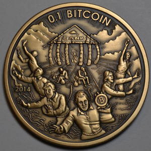 Physical Bitcoin art