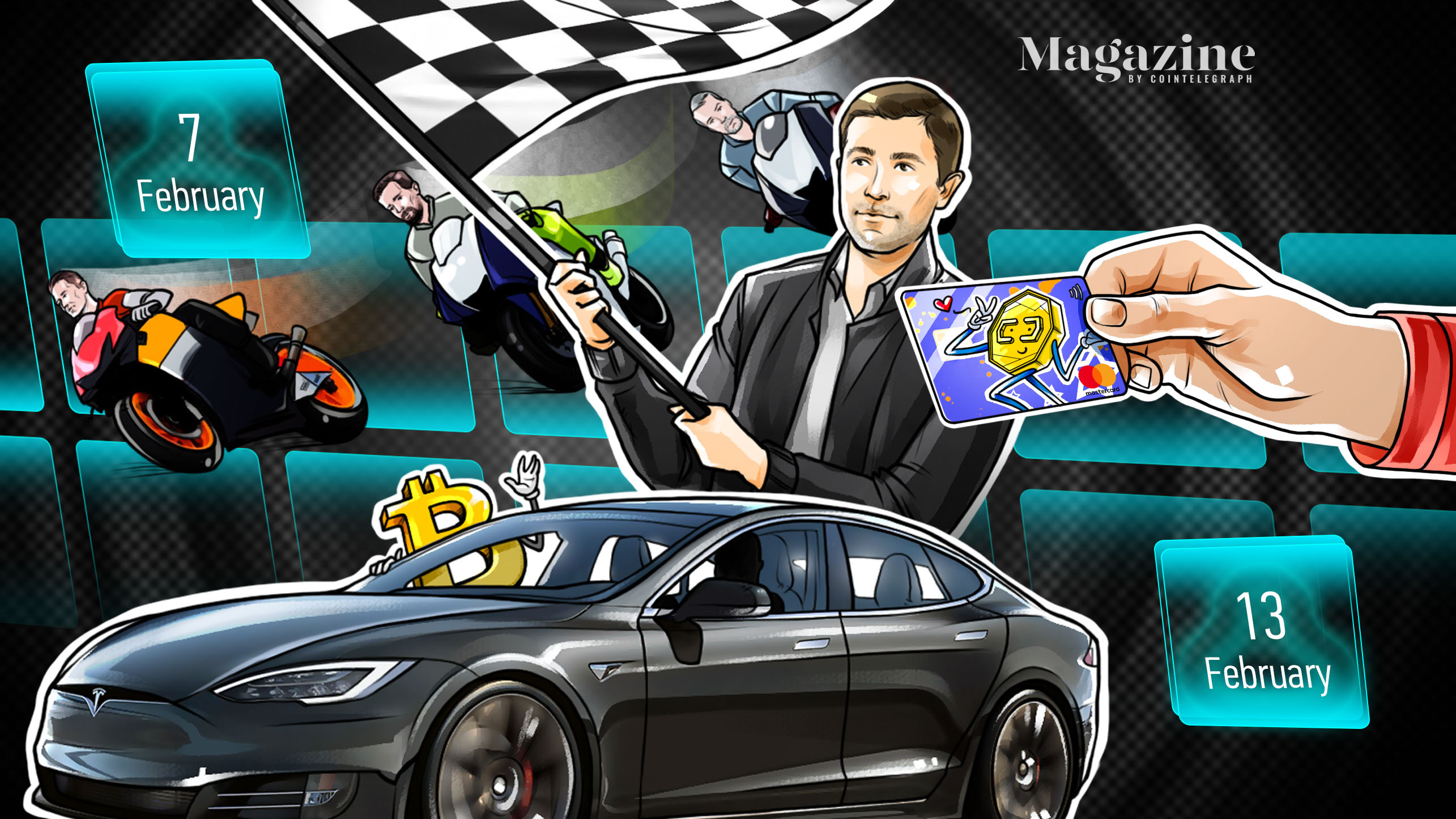 Tesla buys BTC, Mastercard supports crypto, DOGE founder speaks out: Hodler's Digest, Feb. 7–13