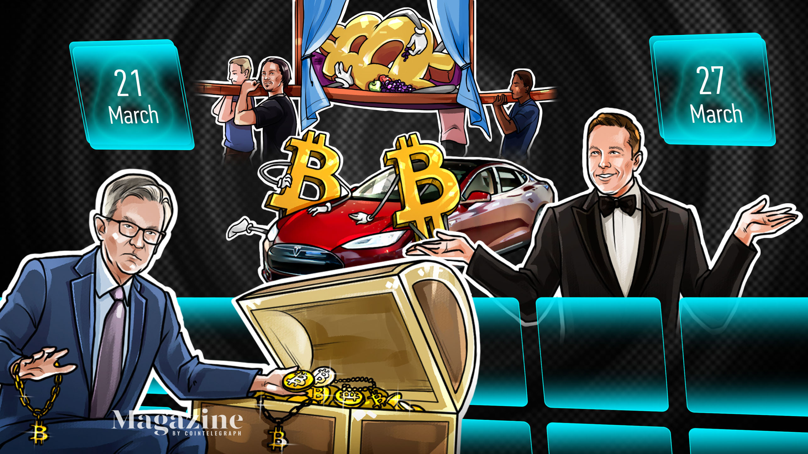 $400K Bitcoin predicted this year, NFT warning, Instagram influencer in trouble: Hodler's Digest, March 21–27