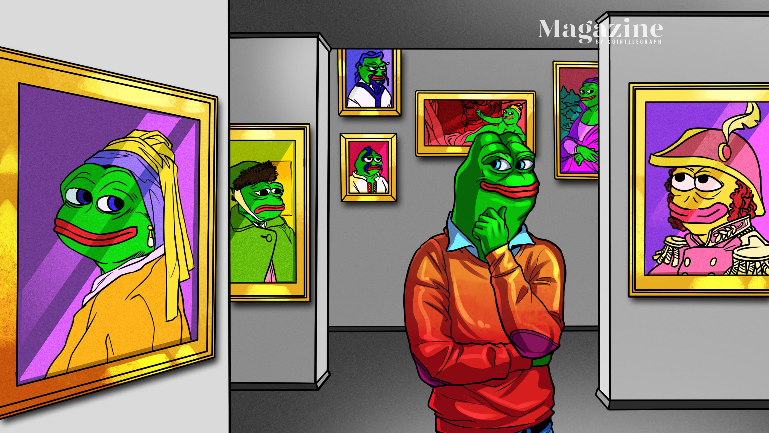 Crypto Pepes: What does the frog meme?