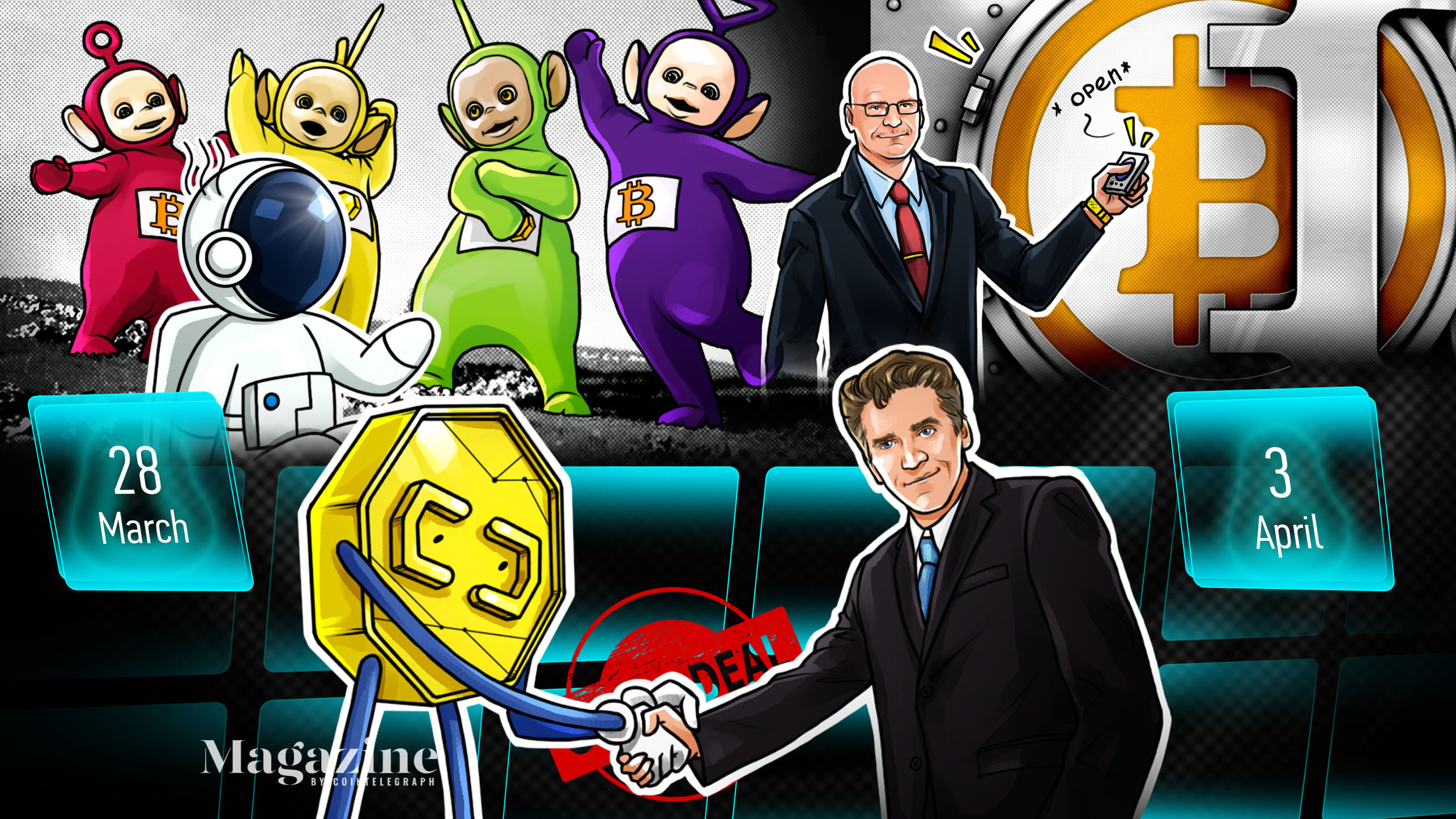 ETH smashes records, Bitcoin's brilliant quarter, PayPal's big move: Hodler's Digest, March 28–April 3