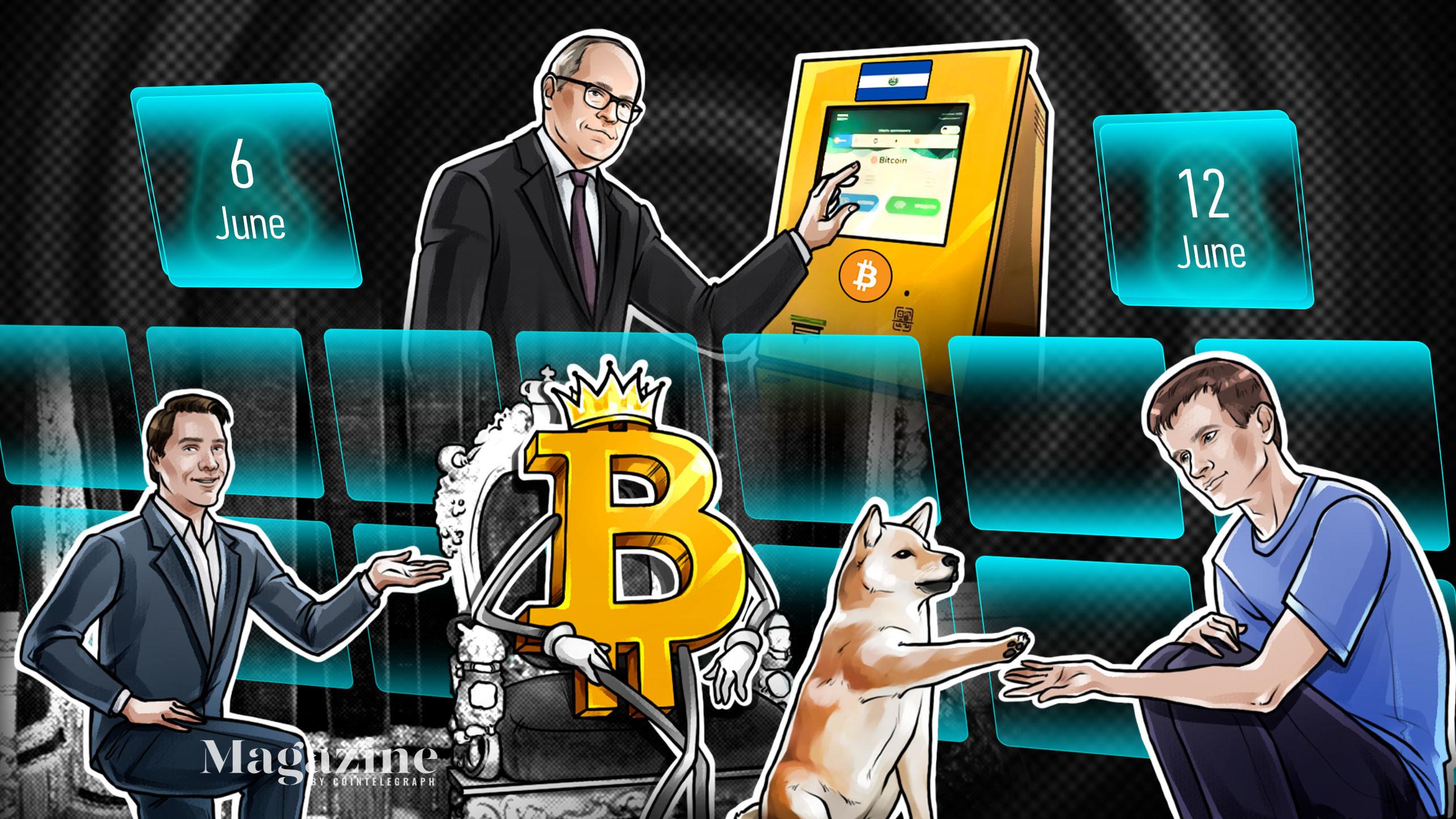 Bitcoin under threat, El Salvador rejected, Mark Cuban stung, McAfee 'has not...