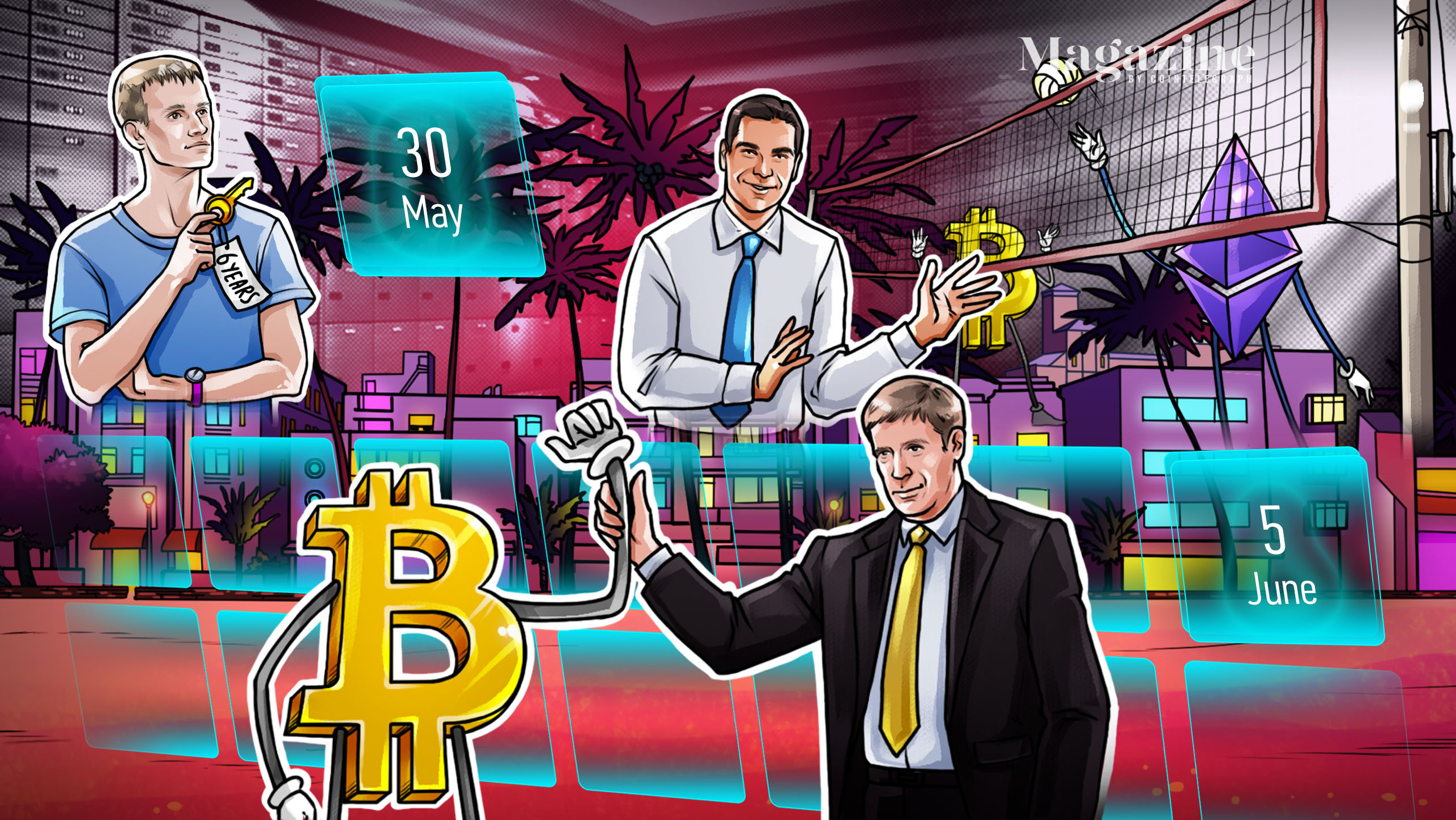 Bitcoin Miami mania, Dogecoin bounces back, Eth2 woes: Hodler's Digest, May 30–June 5