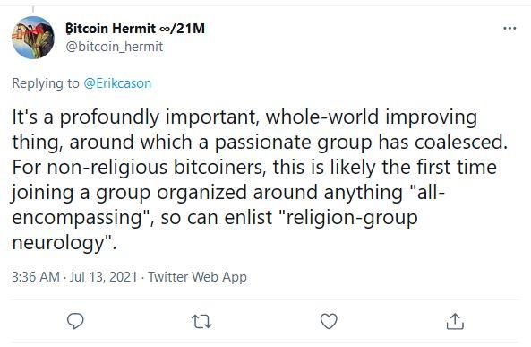 Bitcoin Hermit