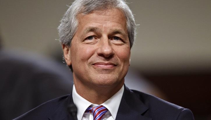 JP Morgan chairman and CEO Jamie Dimon