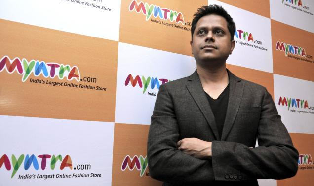 Founder of Myntra, Mukesh Bansal. Photo: P.V. Sivakumar