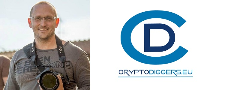 Peter Bešina, CEO of Cryptodiggers.eu