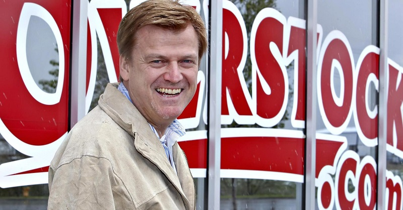 CEO of Overstock Patrick Byrne