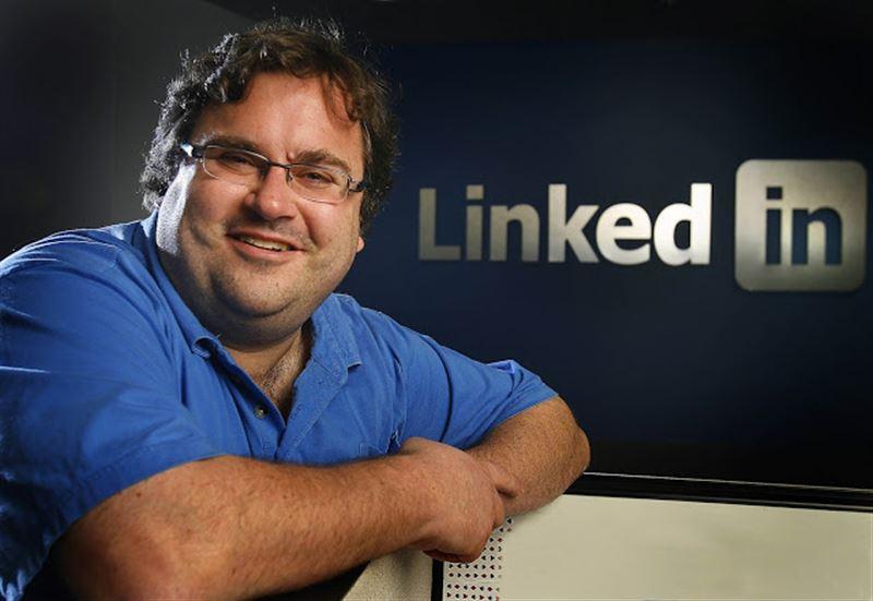 Founder and CEO of LinkedIn, Reid Hoffmann