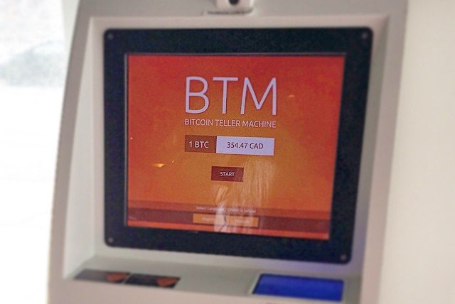 two-way BitAccess bitcoin ATM, operated by BitcoinBrains
