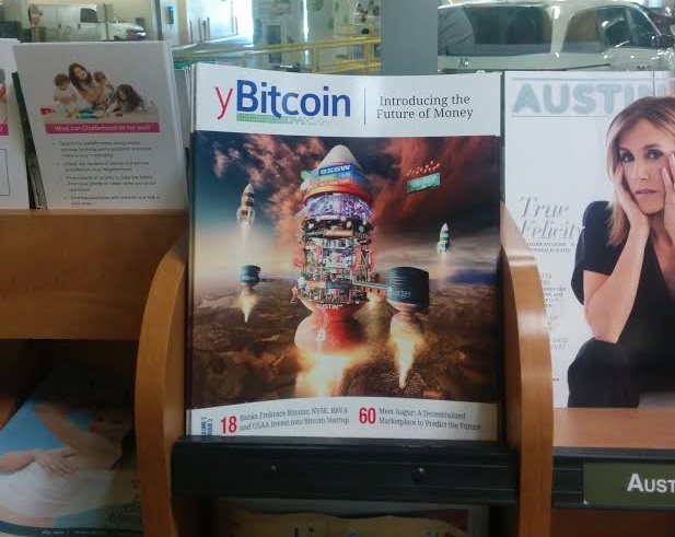 New Bitcoin magazine, yBitcoin, on store shelves