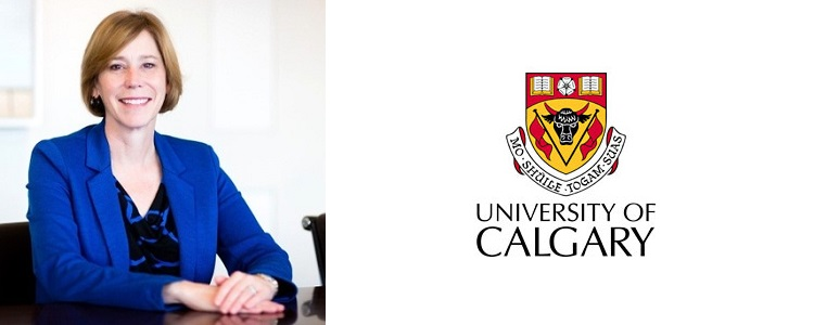 Linda Dalgetty, Vice president of University of Calgary