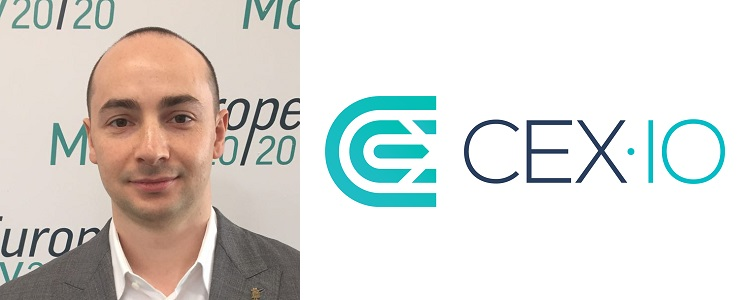 Oleksandr Lutskevych, CEO and Co-Founder of CEX.IO