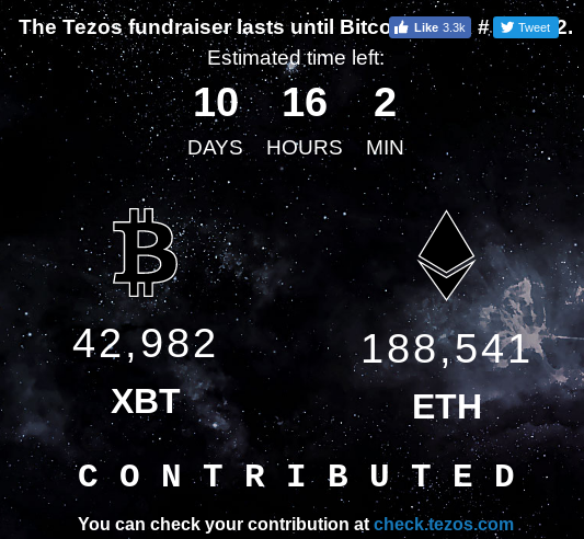 The Tezos Fundraiser