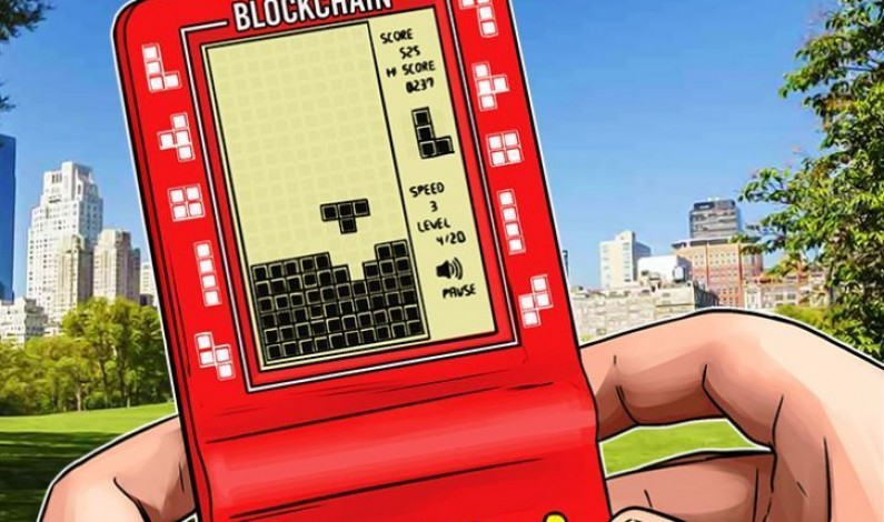 Blockchain as a tetris game