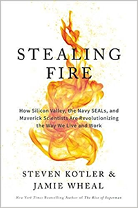 About revolutionizing: Stealing Fire by Steven Kotler & Jamie Wheal, (2017)