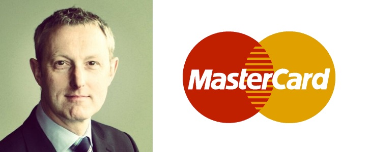 Andrew Buckley, head of products for MasterCard Europe