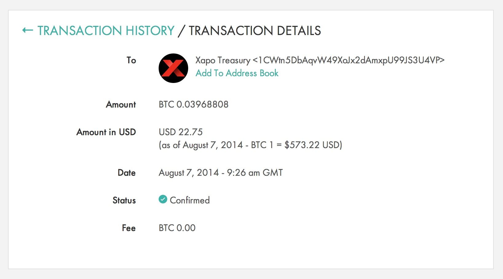 Xapo addresses debit cards fees promises to reimburse users the user went online to activate the card but noticed the website said he had a balance of us000 whereas his xapo wallet had about us100 ccuart Images
