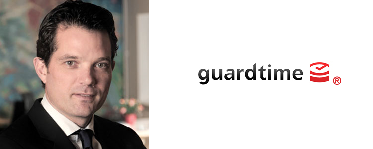 Mike Gault, CEO of Guardtime