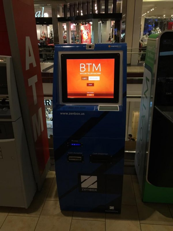 BitAccess machines in Brea, California