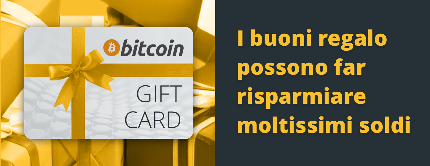 Bitcoin gift card can save you a lot of money
