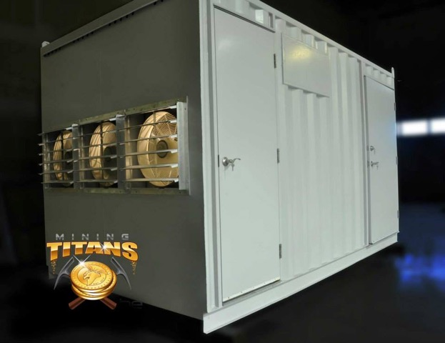 Industrial Mining Mobile Data Center (MDC)
