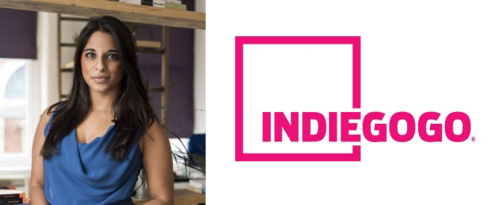 Anastasia Emmanuel, the European director of technology and design at Indiegogo