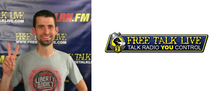 Ian Freeman, host of radio program Free Talk Live