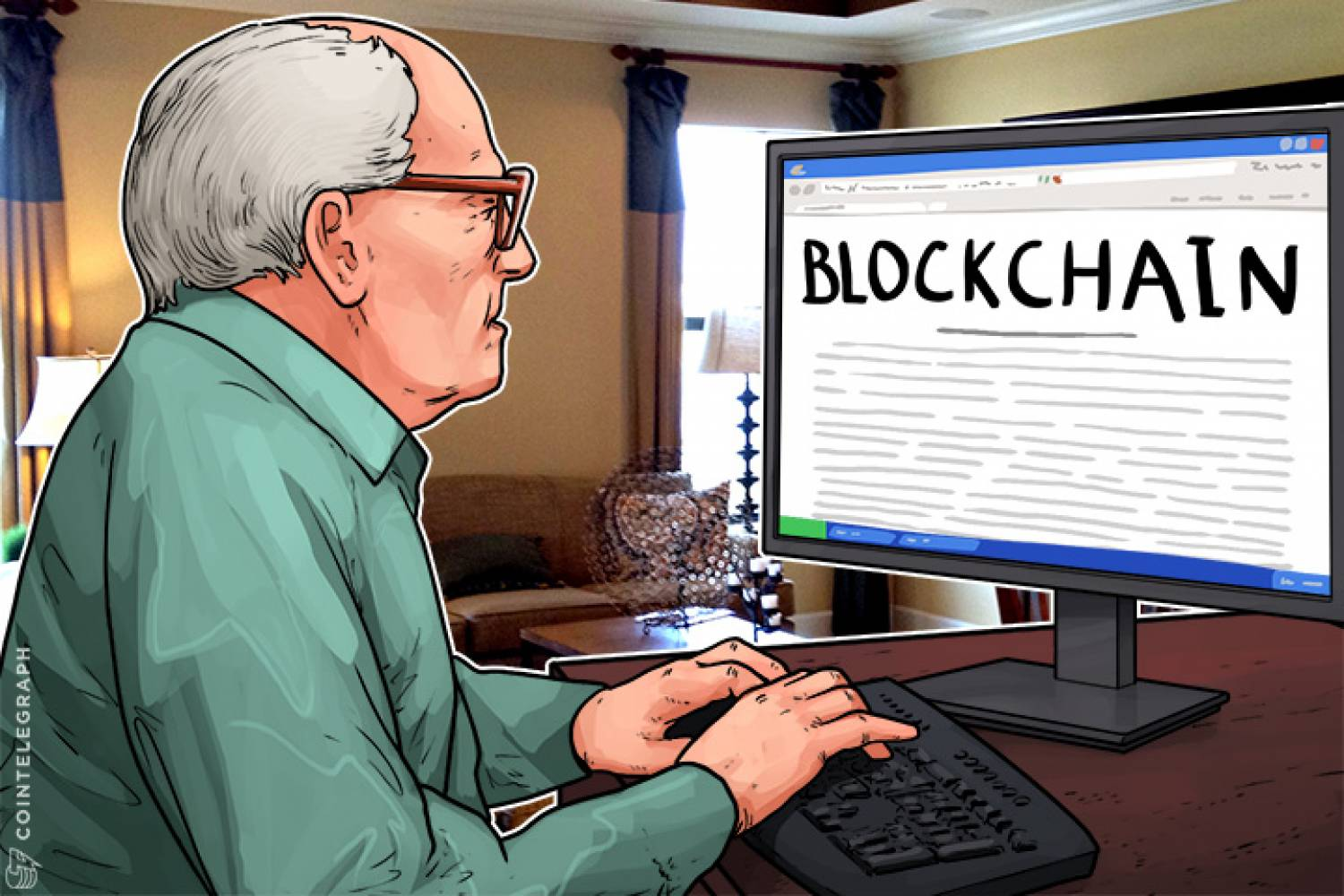 An old man trying to understand the blockchain technology
