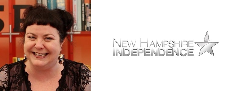 Carla Gericke, former president of the Free State Project and current president of the regional pro-independence Foundation for New Hampshire Independence