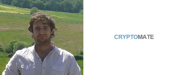 CryptoMate Founder William Thomas