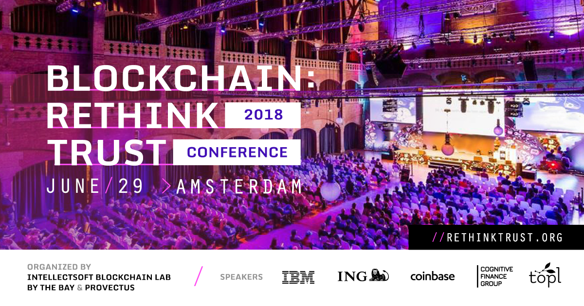 The First Blockchain Engineering Conference Built for Reengineering Trust in the Enterprise