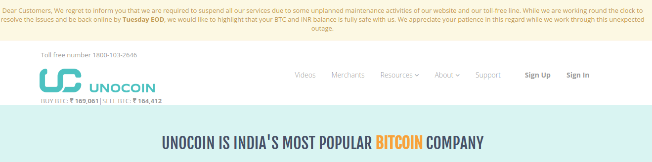 Unocoin Is India's Most Popular Bitcoin Company