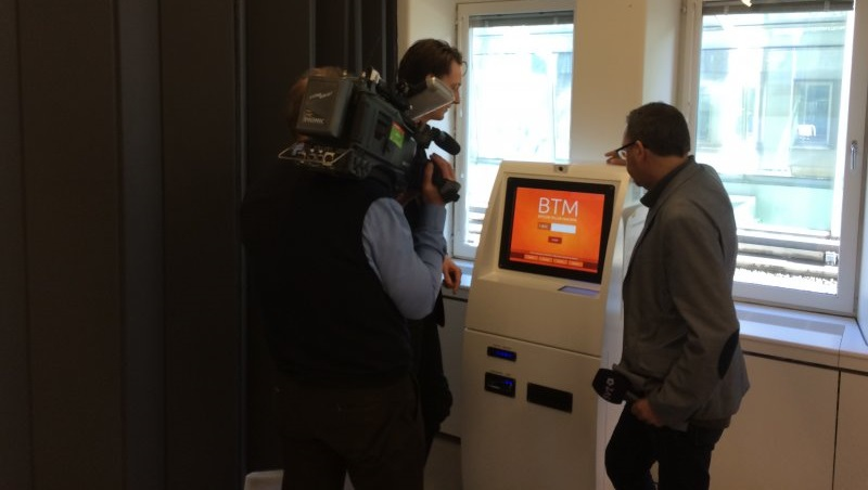 BitXatm Bitcoin ATM that was initially located at Magicom Shop in Geneva