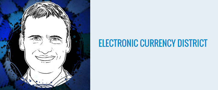 Electronic Currency District CEO Aleksandar Matanovic