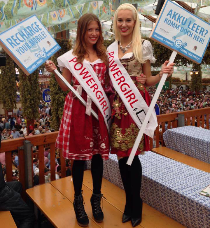 RockCiti girls on Oktoberfest 2014