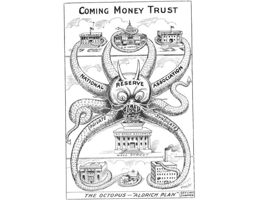 Old Federal Reserve cartoon