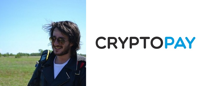 George Basiladze, founder of Cryptopay